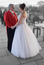 Essex Wedding Toastmaster with Bride