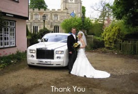 Thank you Card recieved by Richard Palmer, Essex Wedding Toastmaster
