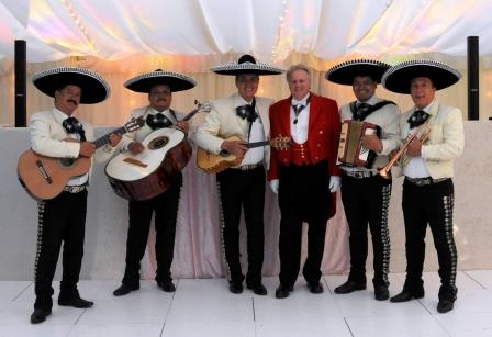 Essex toastmaster for your wedding with the Mariachi Doritos at an Essex Wedding