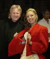 Essex Wedding Toastmaster at Gaynes Park With Katie wearing my red long tail coat