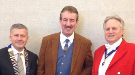 John Challis perhaps best known as Boycie from Only Fools and Horses with Ashley Nicols and Richard Palmer