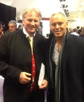 Judge Robert Rinder with Richard Palmer at Simchas Live
