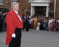 Milni Ceremony at Hindu Wedding in Essex with Essex Toastmaster Richard Palmer