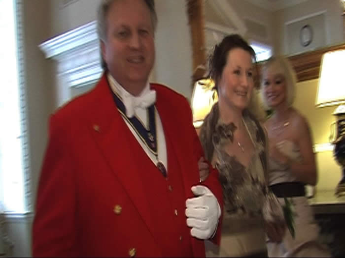 Civil Ceremony in Essex with the Essex Wedding Toastmaster and Bride's Mum at Boreham House