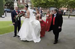Richard Palmer Toastmaster at Brentwood Cathedral for Wedding