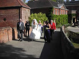 Essex toastmaster courses expert at an Essex wedding
